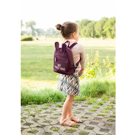 Picture of Childhome®  Children's Backpack My First Bag Aubergine