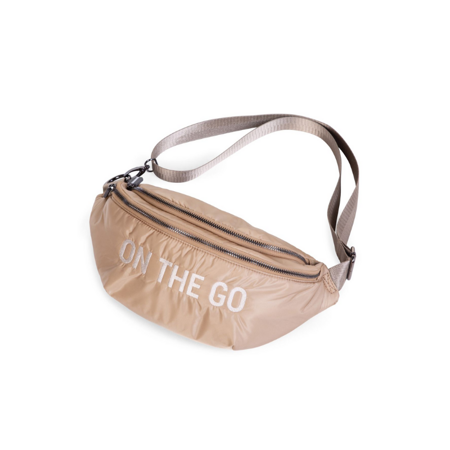 Picture of Childhome® Banana bag On the Go Hip Bag Beige