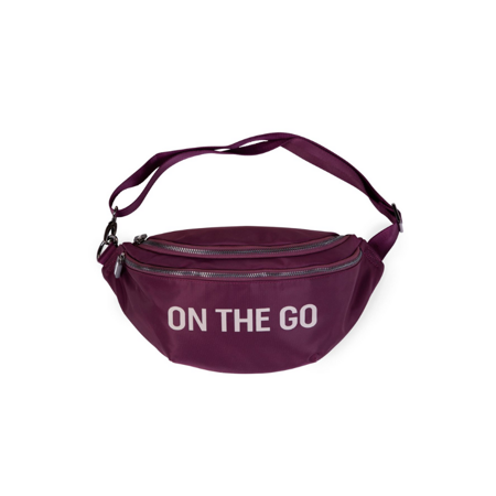 Picture of Childhome® Banana bag On the Go Hip Bag Aubergine