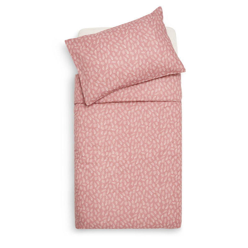 Picture of Jollein® Duvet cover Cot Meadow Rosewood 140x100