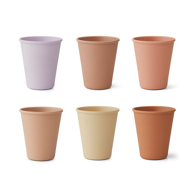 Picture of Liewood® Carter Cup 6 Pack - Lavender Multi Mix