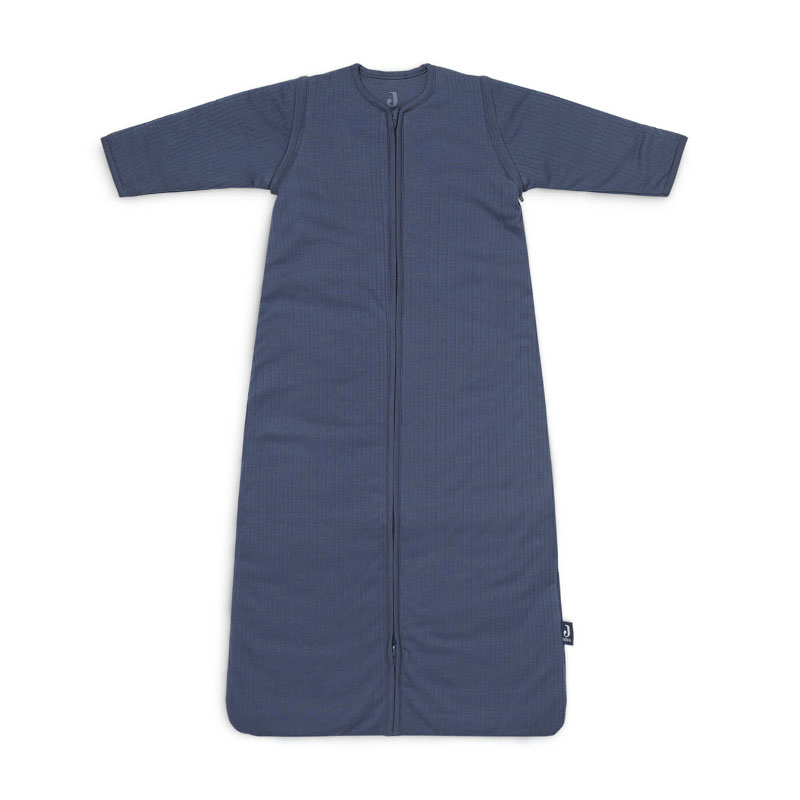 Picture of Jollein® Baby leeping ag with removable sleeves 110cm Stripe Jeans Blue TOG 3.5