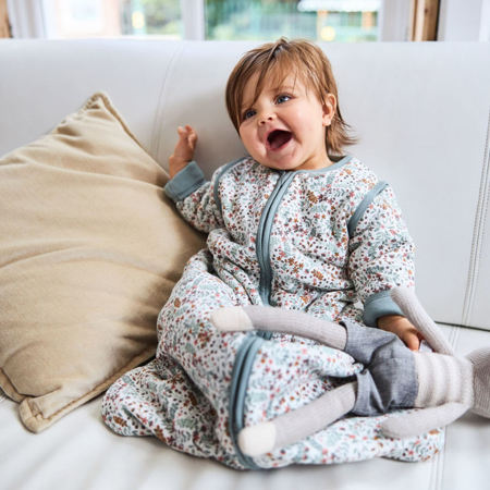 Picture of Jollein® Baby leeping ag with removable sleeves 110cm Bloom TOG 3.5