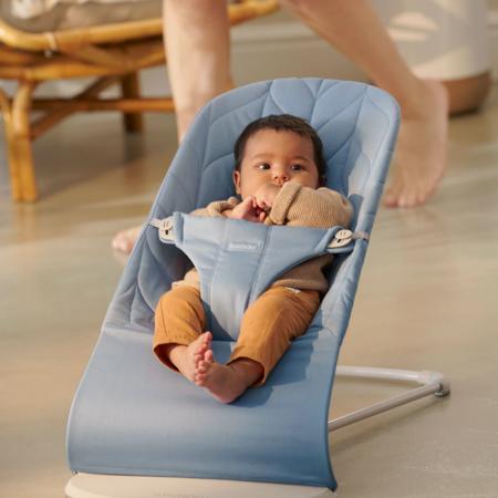 BabyBjörn® Balance Bliss Cotton Petal Quilt Blue