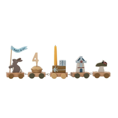 Picture of Bloomingville® Birthday Decoration Brown
