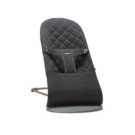 Picture of BabyBjörn® Bouncer Balance Bliss Cotton Classic Quilt Black
