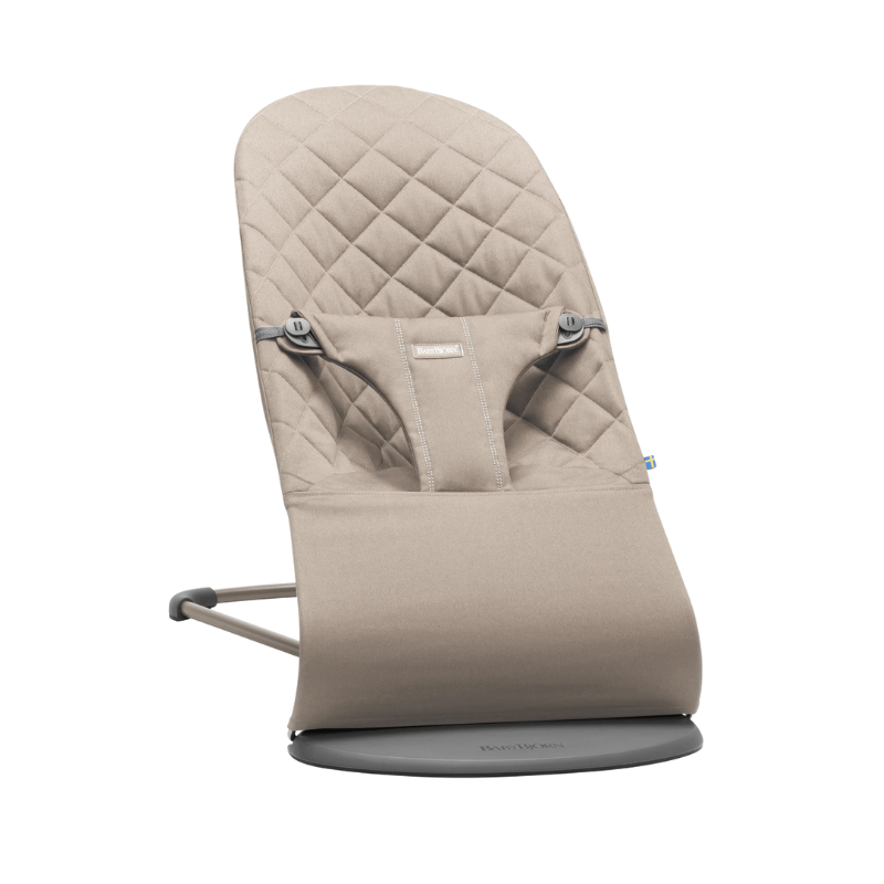 Picture of BabyBjörn® Bouncer Balance Bliss Cotton Classic Quilt Sand Gray