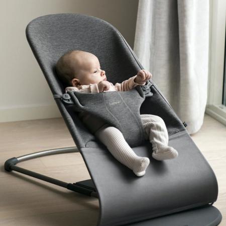 BabyBjörn® Bouncer Balance Bliss 3D Jersey Charcoal Grey