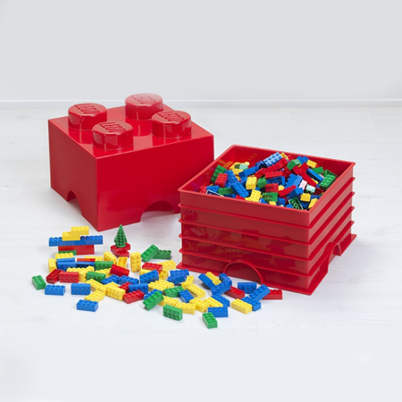 Picture of Lego® Storage Box 4 Aqua