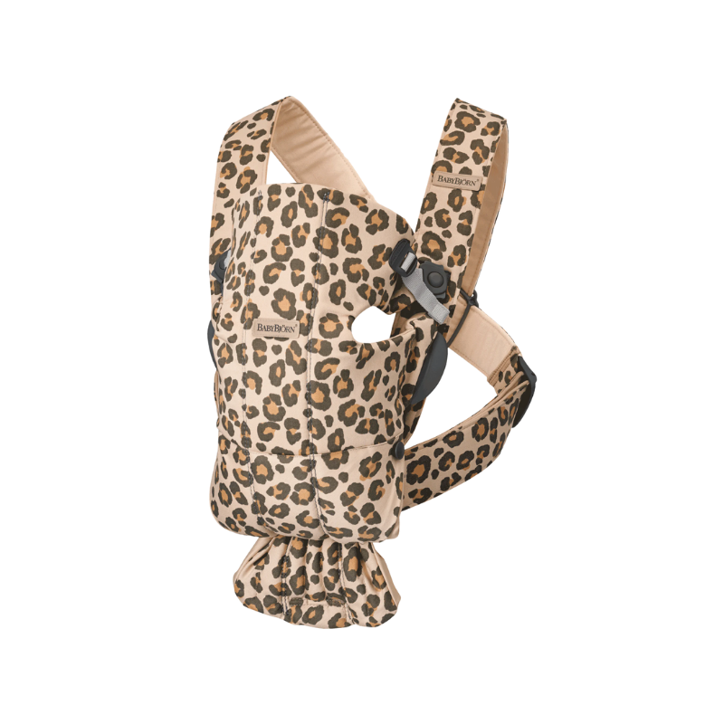 Picture of BabyBjörn® Baby Carrier MINI One Cotton Beige/Leopard