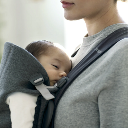 BabyBjörn® Baby Carrier MINI Jersey Dark Grey
