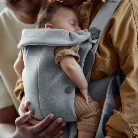 BabyBjörn® Baby Carrier MINI Jersey Light Grey