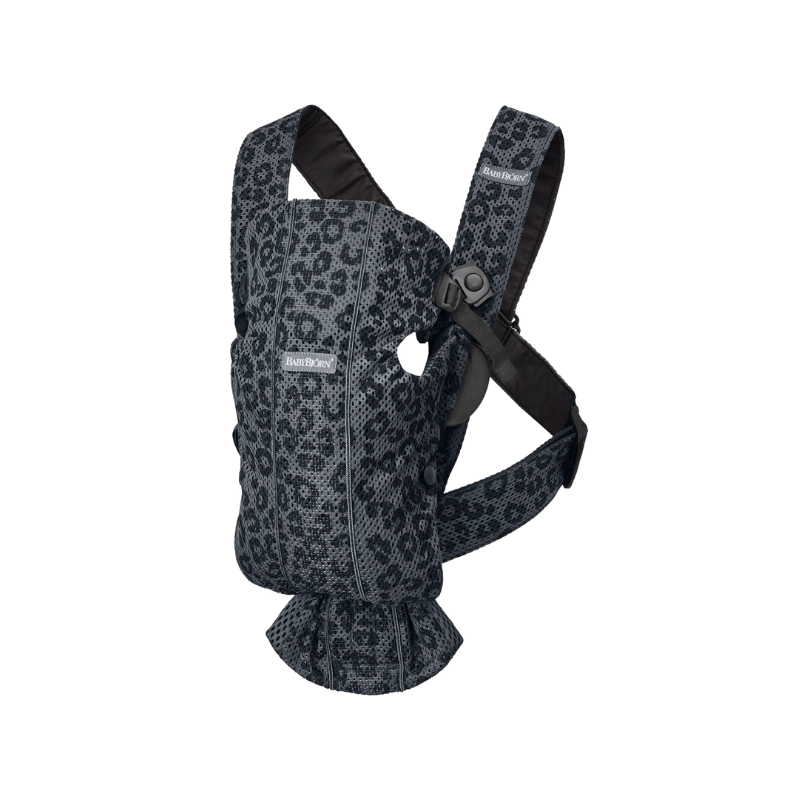 Picture of BabyBjörn® Baby Carrier Mesh Anthracite/Leopard