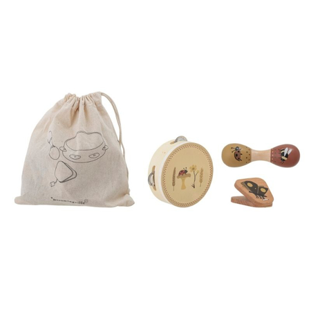 Picture of Bloomingville®  Musical Instrument set Brown