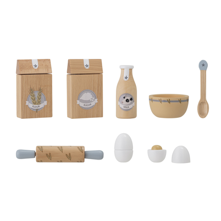 Picture of Bloomingville®  Baking play set Natural