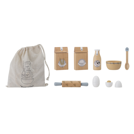 Bloomingville®  Baking play set Natural