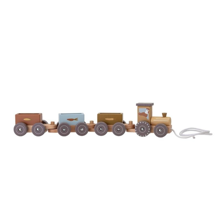 Picture of Bloomingville® Rolla pull along toy Grey
