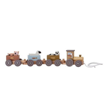 Bloomingville® Rolla pull along toy Grey