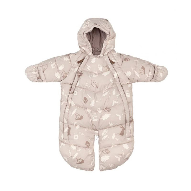 Picture of Leokid® Baby Overall Dusty Pink Forest