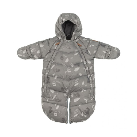Picture of Leokid® Baby Overall Gray Blue Forest (3-9M)