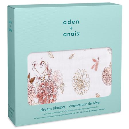Aden+Anais® Classic Dream Blanket Dahlias 120x120
