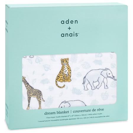 Aden+Anais® Classic Dream Blanket Jungle 120x120