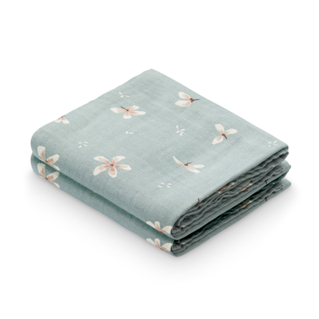 Picture of CamCam® Musling Cloth GOTS  Windflower Blue